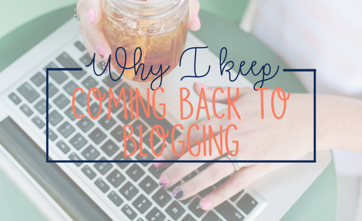 For the better part of a decade, I've owned real estate online in some form or other. I've taken many breaks over the years, but I keep coming back to blogging. Here's why.