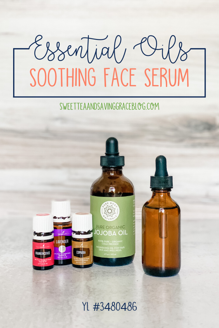 essential oils face serum copaiba lavender frankincense young living