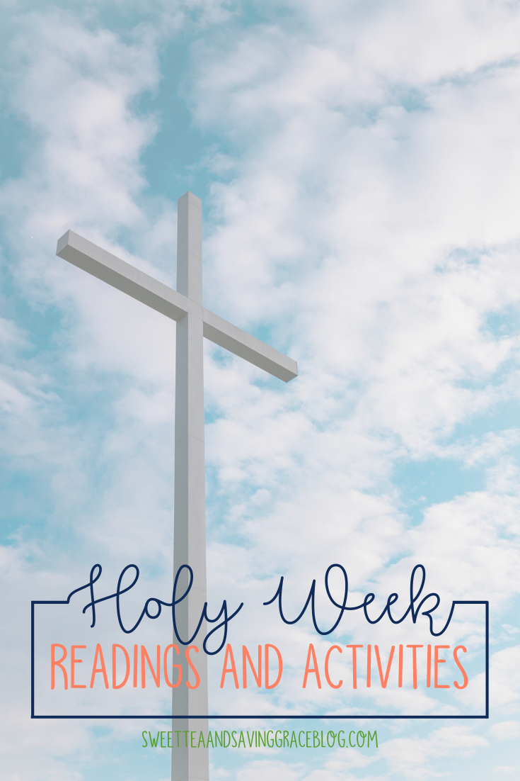 Holy Week is the most significant week in the life of a believer. Follow Jesus each day with daily scripture readings, and participate in activities to make this a memorable and meaningful Holy Week.