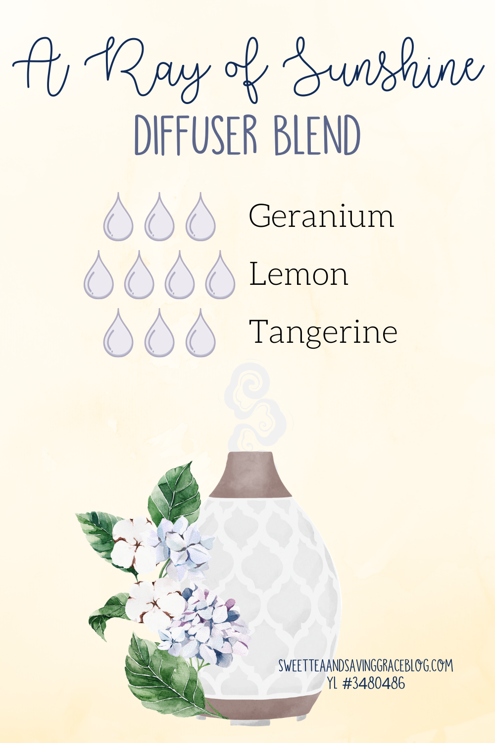 mother's day wellness gift guide young living essential oil diffuser blend ray of sunshine