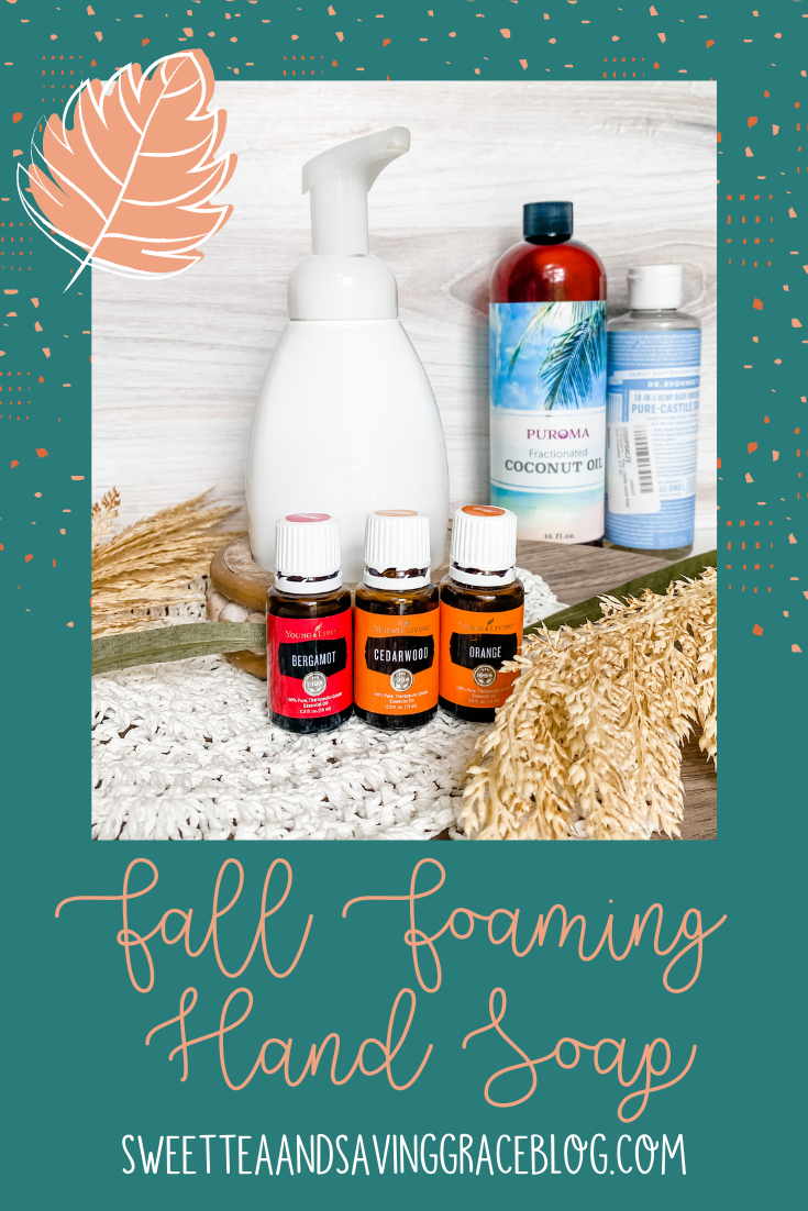 essential oils fall foaming hand soap